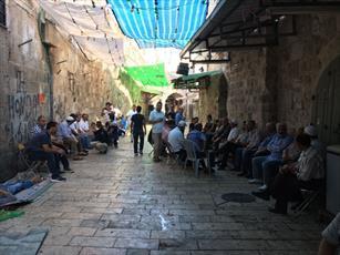 صهیونیست ها مانع فعالیت کارمندان اوقاف اسلامی در مسجدالاقصی شدند