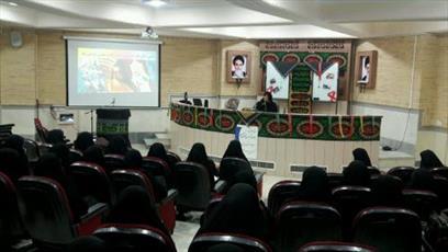 جلسه معارفه طلاب جدید مدرسه علمیه تمام وقت خوابگاهی جامعه الزهرا(س) برگزار شد