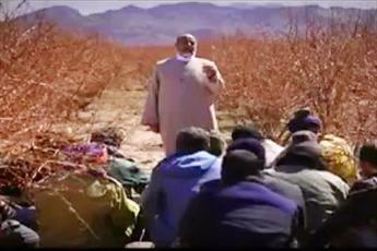 فیلم/ ترویج کشاورزی نوین توسط یک روحانی روستا