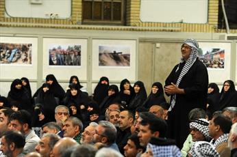 فیلم/ گزارش خبرنگار صدا و سیما از مراسم ویژه هفته دفاع مقدس
