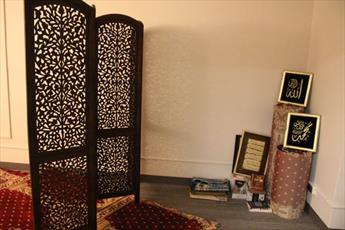 سالن نمازخانه انجمن اسلامی دانشگاه فوردهام در نیویورک افتتاح شد