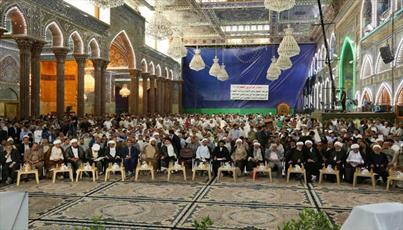 شخصیتهای بینالمللی و جهانی در جشنواره «تراتیل سجادیه»  عراق شرکت میکنند