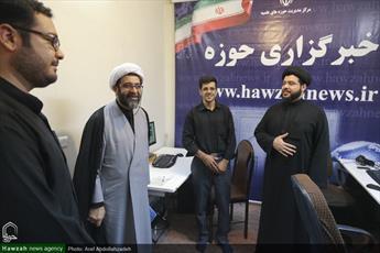 تصاویر/ بازدید مسئول مرکز امور صیانتی حوزه های علمیه از رسانه رسمی حوزه