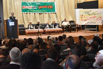 یوم الحسین (ع) در دانشکده سرینگر جامو کشمیر برگزار شد+تصاویر