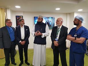 بیمارستان معروف کودکان در لندن، نمازخانه جدیدی افتتاح کرد