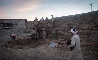 تغییر چهره و  امید یک روستا توسط روحانی جوان/ اشتغال زایی با دستان خالی