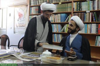 تصاویر/ بازدید سردبیر خبرگزاری واحة نجف از رسانه رسمی حوزه