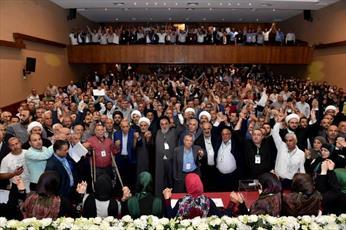 جنبش امل بار دیگر نبیه بری را به عنوان رئیس این جنبش انتخاب کرد