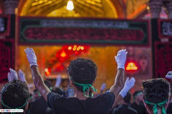 تصاویر/ عزاداری هیئت سلمان فارسی در حرم سیدالشهدا علیه السلام