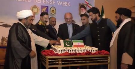 مراسم هفته دفاع مقدس در سفارت ایران در پاکستان برگزار شد+تصاویر