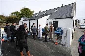 نخستین مسجد جزایر غربی اسکاتلند، به یک جاذبه گردشگری تبدیل شده است