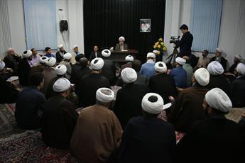 نخستین جلسه درس خارج فقه و اصول در استان گیلان برگزار شد