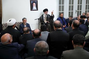 تصاویر/ دیدار مسئولان و دستاندرکاران حج با رهبر انقلاب