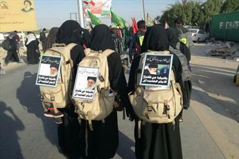 حکم شرکت زنان در پیاده روی اربعین