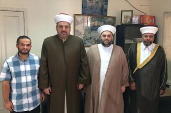 انجمن شورای علمای الانبار با دبیرکل جنبش امت لبنان دیدار کرد