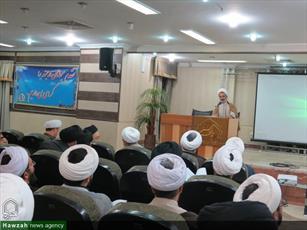 تصاویر/  اجلاسیه مدیران و معاونین آموزش مدارس علمیه استان تهران