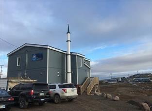 مسلمانان شمالی ترین منطقه کانادا، «بانک غذایی» راه اندازی کردند