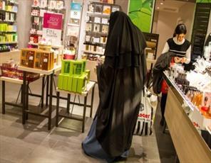 نظر سنجی از مردم اروپای غربی در مورد پوشش کامل زنان مسلمان