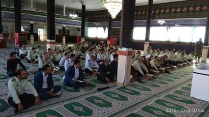 کاروان قرآنی سفیران وحدت در فرماندهی انتظامی استان کردستان حضور یافتند