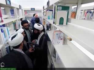 تصاویر/ کارگاه پژوهشی شیوه های تحقیق کتابخانه ای در حوزه علمیه خراسان شمالی