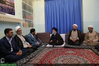 تصاویر / دیدار  مدیران پژوهش های اسلامی صدا و سیما با حضرت آیت الله علوی گرگانی