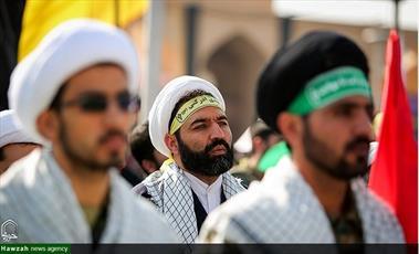 تصاویر/ رزمایش۳۰ هزار نفری  اقتدار عاشورایی بسیجیان  اصفهان