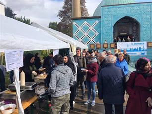 مراسم روز درهای باز مسجد امام علی (ع) در هامبورگ برگزار شد + تصاویر