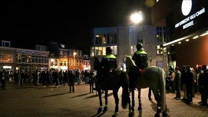 راهپیمایی اسلام ستیزان در هلند، به خشونت کشیده  شد