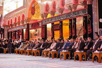 """جشنواره """"تراتیل سجادیه"""" با سخنرانی نماینده آیت الله سیستانی و حضور جهانی آغاز به کار کرد"""
