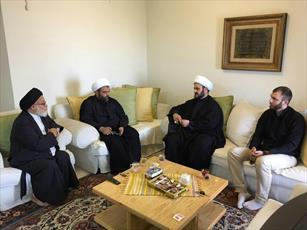 دبیرکل نجبا با نماینده مقام معظم رهبری در لبنان دیدار کرد