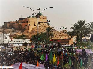 مقام امام زین العابدین(ع) در کرکوک شاهد حضور عزاداران شهادت آن حضرت بود+ تصاویر