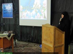 تصاویر/ مراسم تکریم و معارفه مدیر مدرسه علمیه الزهرا(س) بجنورد