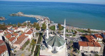 مسجد هشت ضلعی در ترکیه، به جاذبه گردشگری تبدیل شده است