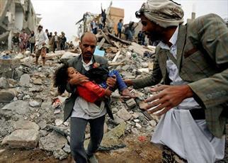 ماموستا محمد امین راستی:کودک کشی در یمن لکه  ننگی بر چهره  سعودی هاست