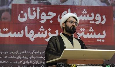 مسئول جدید دفتر نمایندگی ولیفقیه در بسیج دانشجویی  سمنان معرفی شد