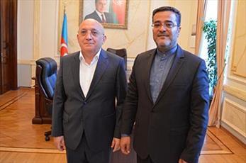 رایزن فرهنگی ايران با رئیس کمیته امور دینی جمهوری آذربایجان دیدار کرد