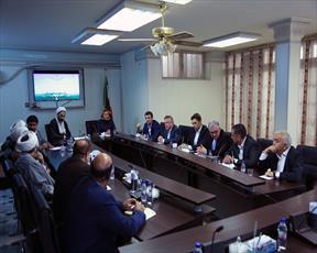 بازدید رئیس موسسه قانونگذاری روسیه از مرکز تحقیقات اسلامی مجلس در قم