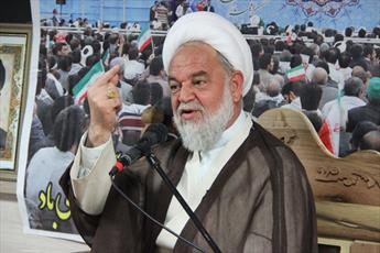 نماینده ولی فقیه در خراسان شمالی:۱۳ آبان موعد شکستن هیمنه و اقتدار پوشالی آمریکاست