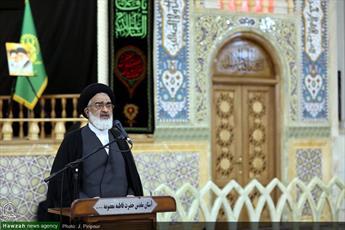 مواکب اربعین پیام اتحاد ملت ایران و عراق را به جهانیان منعکس کنند