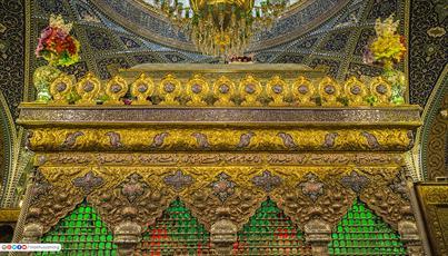 تصاویر/جلوههایی زیبا از حرم  مطهر حضرت رقیه(ع)