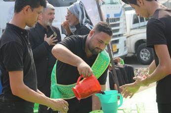 حرم امام علی(ع) پذیرائی از زائران اربعین را آغاز کرد+ تصاویر