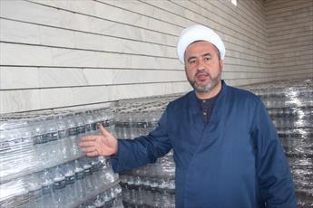 ارسال ۳۰ هزار بطری آب معدنی به موکب های کربلا