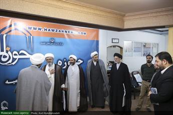 بازدید  مدیران سطوح عالی حوزه علمیه قم  از خبرگزاری  حوزه