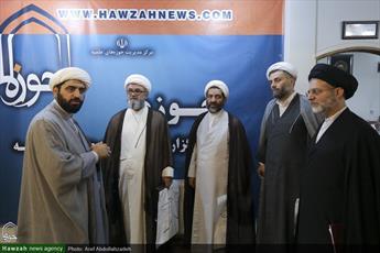 تصاویر/ بازدید مدیران سطوح عالی حوزه علمیه قم از رسانه رسمی حوزه