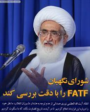 عکس نوشت | شورای نگهبان FATF  را با دقت بررسی کند