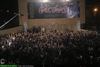 تصاویر/ اجتماع عزاداران حسینی محله شهرقائم قم