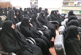 گردهمایی اساتید حوزه علمیه خواهران استان یزد+عکس
