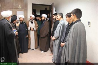 تصاویر/ حضور نماینده ولی فقیه در آذربایجان غربی در حجره طلاب