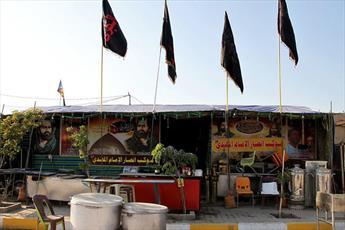 برپایی ۸ موکب  استان اصفهان در  عراق برای پذیرایی از زائران اربعین