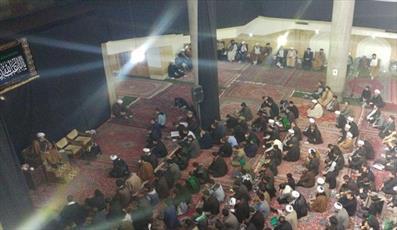 بزرگداشت آیت الله العظمی خویی(ره) در مشهد برگزار شد